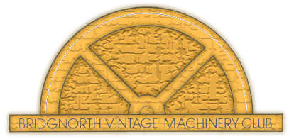 Bridgnorth Vintage Machinery Club Logo
